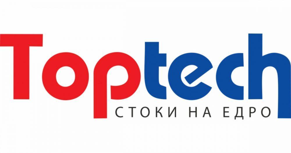 Изработка на фирмен уеб сайт на toptech.bg